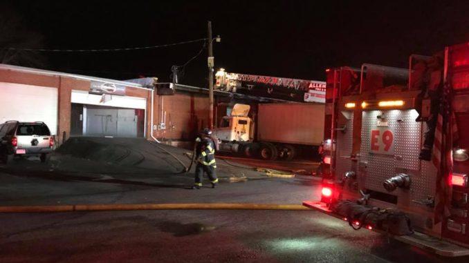 Allentown Building Fire