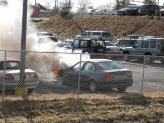 BMW fire