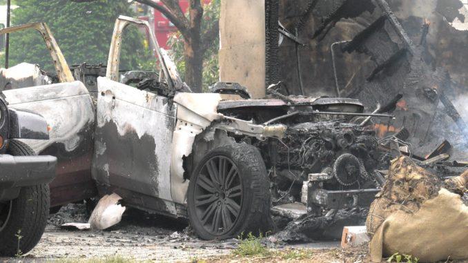 Trexler Road Fire