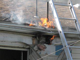 Fire showing in Salisbury house fire